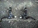 BMXブレーキレバー【DIA-COMPE MX-1 BL330 WIN ブラック/ブラック カラー】ピストレバー ペア