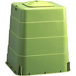 生ごみ処理容器[コンポスト容器] わんだーBOX 200L 岐阜プラスチック工業[代引き返品不可品] 【送料無料】 微生物の力で生ごみを堆肥にするコンポスト容器!