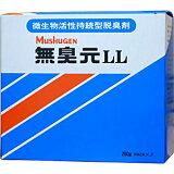 汲み取り便所 悪臭対策 無臭元LL 200g×5袋/箱 汲み取りトイレ用消臭剤 微生物活性持続型 脱臭剤