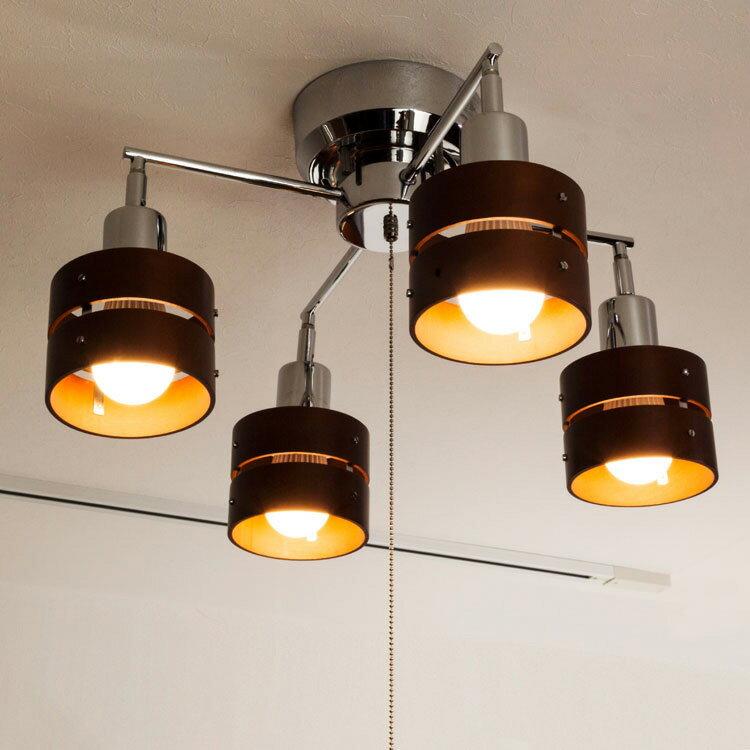 【送料無料 ポイント10倍】照明 LED 対応 シーリングライト スポットライト 4灯 レ…...:kaiteki-homes:10080803