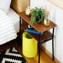 サイドテーブル 机 テーブル ミニテーブル コーヒーテーブル ソファ サイド ベッド アンティーク ウォールナット モダン 北欧 リビング 寝室 ナイトテーブル おしゃれ 一人暮らし 家具