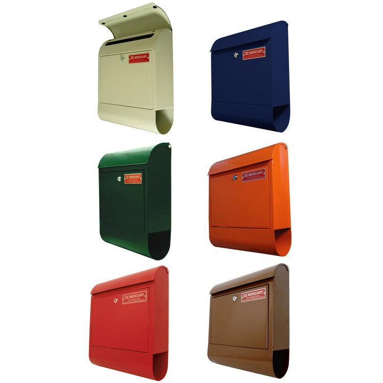 (マーキュリー) Mail Box(メールボックス) C062【メールボックス メール ボックス box ポスト 郵便 郵便受け 収納 鍵 鍵付き マーキュリー デライト 手紙 ポップ アメリカン 北欧 家具 楽天 通販】【送料無料】