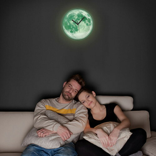 掛け時計 ムーン ライト クロック【壁掛け時計...の紹介画像3