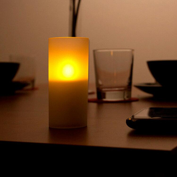 【ポイント10倍】LEDキャンドル クオーレ Cuore 1本【おしゃれ キャンドル ロウ…...:kaiteki-homes:10074643