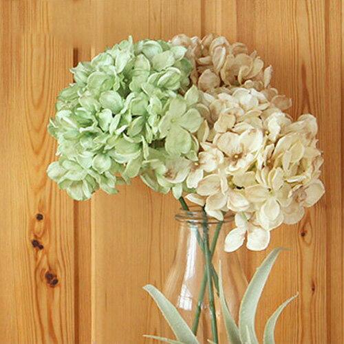 RoomClip商品情報 - 【いなざうるす屋】フェイクグリーン 紫陽花 あじさい【いなざうるす ドライフラワー グリーン 緑 アジサイ ブーケ フェイク ガーランド アンティーク アーティフィシャルグリーン ミニ 造花 観葉植物 おしゃれ かわいい 北欧 雑貨 ブルックリン 塩系】