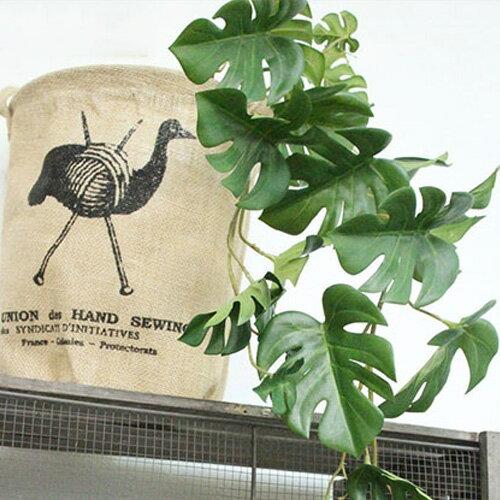 いなざうるす屋フェイクグリーンモンステラいなざうるすグリーン緑葉っぱ葉はっぱフェイクガーランドアーテ
