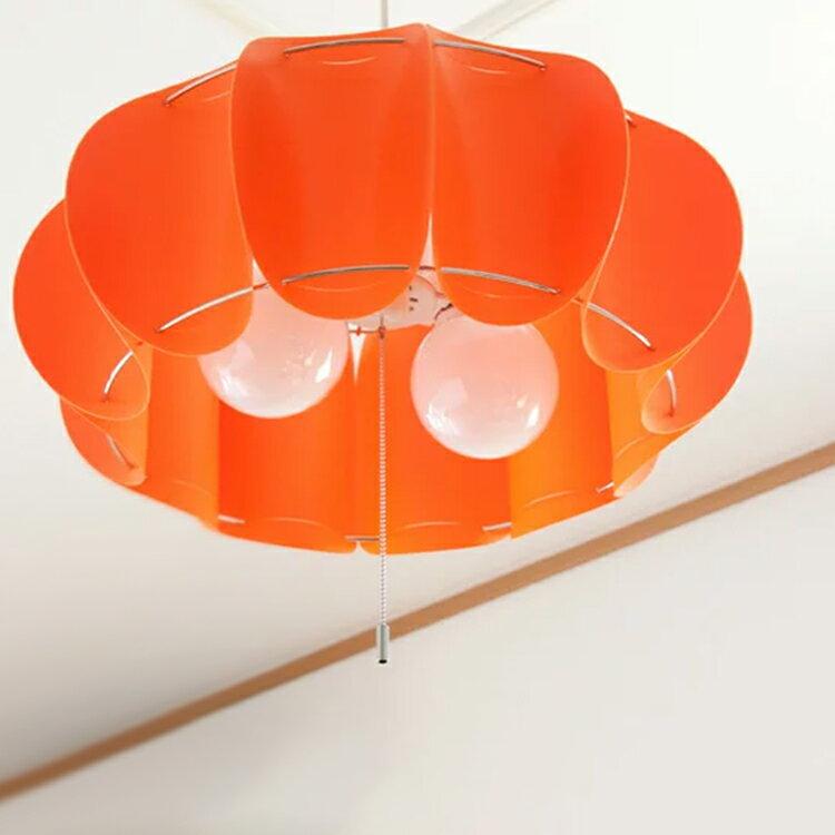 【送料無料】照明 LED 対応 日本製 人気照明 ペンダントライト 2灯 パンプキン pu…...:kaiteki-homes:10074659