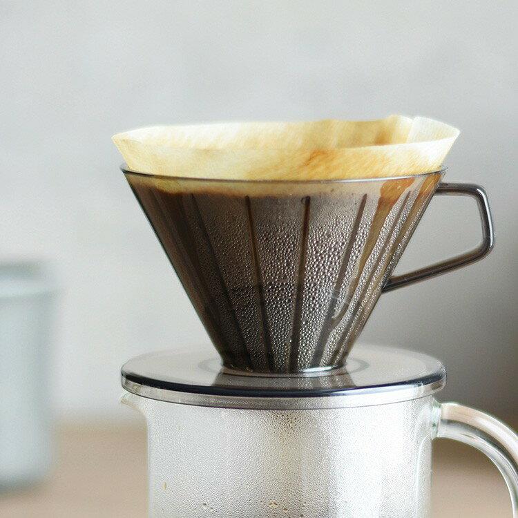 KINTOキントーSCS-02-BR-CGYブリューワー2cupsコーヒーメーカーコーヒードリッパー