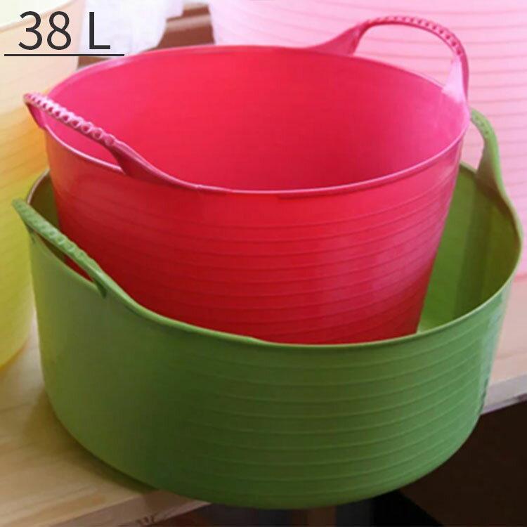 バケツ タブトラッグス L Size TUBTRUGS 38L【洗濯物 ランドリーバスケッ…...:kaiteki-homes:10081506