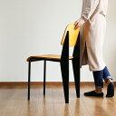 デザイナーズ スタンダードチェア【ジャン プルーヴェ Standard Chair ダイニングチェア デスクチェア リプロダクト 背もたれ 椅子 オーク ブルックリン 西海岸 リビング 北欧 おしゃれ家具 インテリア シンプル 木製 アンティーク 新生活】