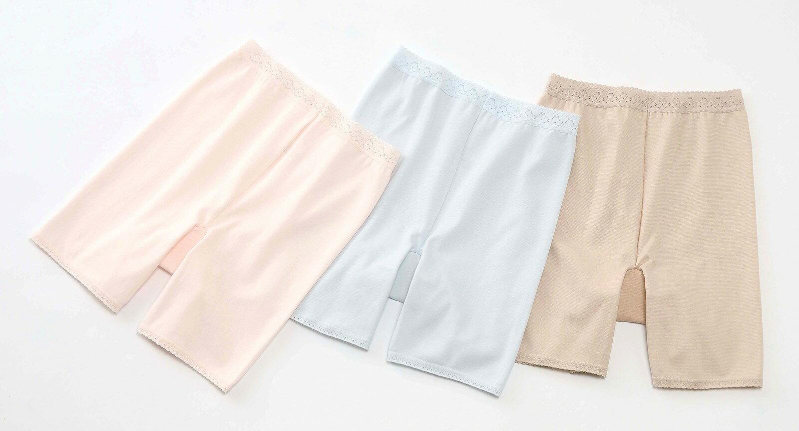 失禁パンツ 女性 3分丈 M/L/LL【3枚セ...の紹介画像2