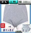 失禁パンツ 男性 大容量 3L【1枚】尿漏れ300cc 日本製 品番33018