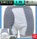【型33015】S/M/L/LL【1枚】男性失禁パンツ 中容量100cc 日本製