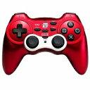【送料無料】【中古】PS3 プレイステーション 3 ワイヤレスホリパッド3 レッド【充電式リチウムバッテリー内蔵】 コントローラー