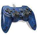 【送料無料】【中古】PS3 プレイステーション3 ホリパッド3 ミニ クリアブルー コントローラー プレステ3