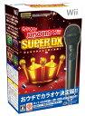 【送料無料】【中古】Wii カラオケJOYSOUND Wii SUPER DX ひとりでみんなで歌い放題! (マイクDXセット) ジョイサウンド