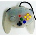 【送料無料】【中古】N64 任天堂64 ホリパッドミニ64 スノーホワイト コントローラー 本体