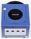 【送料無料】【中古】GC ゲームキューブ NINTENDO GAMECUBE 本体 バイオレット (本体のみ ケーブル コントローラーなし)