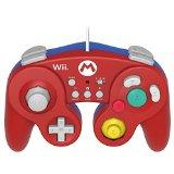 【送料無料】【中古】Wii U 【Wii U/Wii対応】ホリ クラシックコントローラー for Wii U マリオ 任天堂