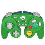 【送料無料】【中古】Wii U 【Wii U/Wii対応】ホリ クラシックコントローラー for Wii U ルイージ 任天堂