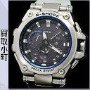 【美品】カシオ【CASIO G-SHOCK】MT-G Gショック GPSハイブリッド電波ソーラー時計 ステンレススチール SSブレス メンズウォッチ 腕時計 MTG-G1000D-1A2JF 【Aラン