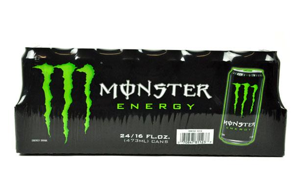 MONSTER【モンスター エナジードリンク 緑 473ml×24本】Monster Energy 24/16FL OZ