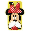 セール☆ Loungefly【ラウンジフライ × ディズニー ミニーマウス iPhone5 / 5s用シリコンケース WDCC0211 レッド / イエロー】