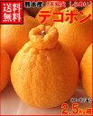 熊本産デコポン(不知火)2.5kg箱(9-12玉)送料無料¥...