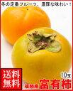 福岡産富有柿10玉送料無料¥3,500
