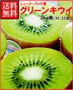 ゼスプリキウイフルーツ完熟グリーンキウイ約3kg箱(30-33玉)