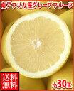 暑い夏に体を潤すジューシーな果汁!南アフリカ産グレープフルーツ白小30玉送料無料\3,980
