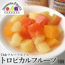 【送料無料】ドール・フルーツボトル トロピカルフルーツ 4個