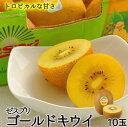 ゼスプリキウイフルーツゴールドキウイ10玉北海道・沖縄は別途送料¥1,000がかかります。