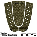 FCS T-3 TRACTION OliveFleck Blackе╡б╝е╒егеє еэеєе░е▄б╝е╔ е╖ечб╝е╚е▄б╝е╔ е╟е├ене╤е├е╔FCS2
