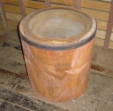 手作り木製(ケヤキ)臼 3升用