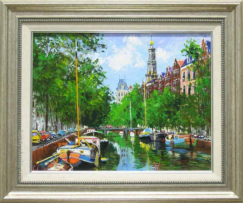 アムステルダムの運河の画像 p1_33