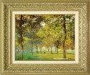 モネ 絵画 アルジャントゥーユの広場の並木道 F6号 送料無料 【複製】【美術印刷】【世界の名画】【6号】