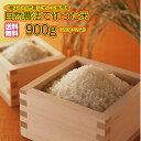 送料無料 広島県産自然農法で作った米 900g 450g×2袋 6合 令和元年産 1等米 お試し