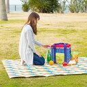 クーポン レジャー ガーデン パーティ リバーシブルシート ピクニック