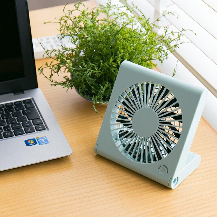 おしゃれ 卓上 扇風機 USB Pieria コンパクト デスクファン ホワイト ブルー TSF-1106U【サーキュレーター ピエリア 扇風機 小型 扇風機 おしゃれ オフィス 電池 コンセント 風量切替 13枚羽 せんぷ うき 夏 涼しい プレゼント 】