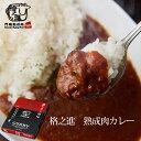 ビーフカレー 和牛 国産 黒毛和牛 レトルト ギフト 格之進 門崎 熟成肉カレー (1袋/160g)