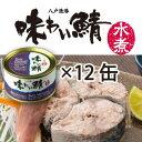 味わい鯖水煮12缶[エコ梱包]【送料無料】【鯖缶】【八戸港水...