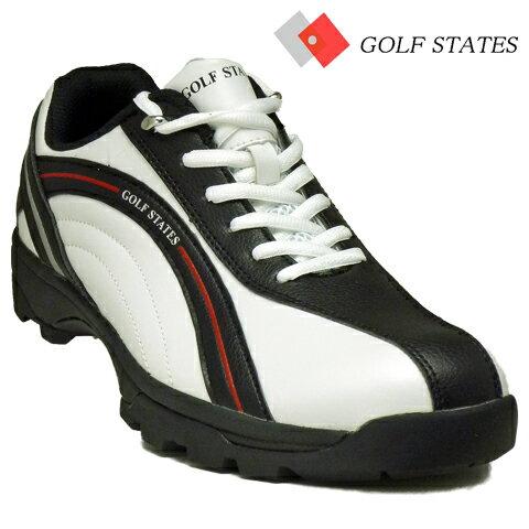 【ニューモデル76%OFF】ゴルフステーツ4WDスパイクレス ゴルフシューズGSS4004…...:kakuyasu-golf:10001756