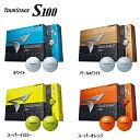 【2012年新商品!】3ダース以上で送料無料!ブリヂストンツアーステージ S100ゴルフボール(1ダース12個入り)TOUR STAGE S100【あす楽対応】