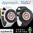 GAMIN Approach S6J ガーミン アプローチ S6J 腕時計型 GPS ゴルフナビ 国内4,800コース以上海外34,000コース以上登録済み 【あす楽対応】 【送料無料】
