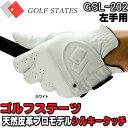 ゴルフステーツ 天然皮革 ゴルフグローブ プロモデル 羊革左手用 「GSL-202」