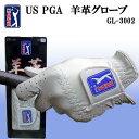 在庫処分 天然皮革使用 US PGA TOUR PGAツアー...
