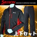 ダンロップ スリクソン 2WAY中綿ブルゾン 中綿ウインドパンツ 2枚組 上下セット 吸湿発熱 太陽光蓄熱 SMW5436X SMW5437