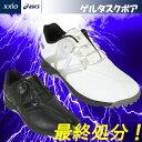 日本正規品 DUNLOP ダンロップXアシックス GEL-TUSK Boa ゲルタスク ボア スパイクレス ゴルフシューズ TGN911