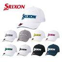 ダンロップ DUNLOP スリクソン SRIXON ゴルフ キャップ フリーサイズ メンズ SMH9130X